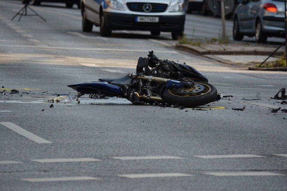 Motorcycle wreck Laredo, TX
