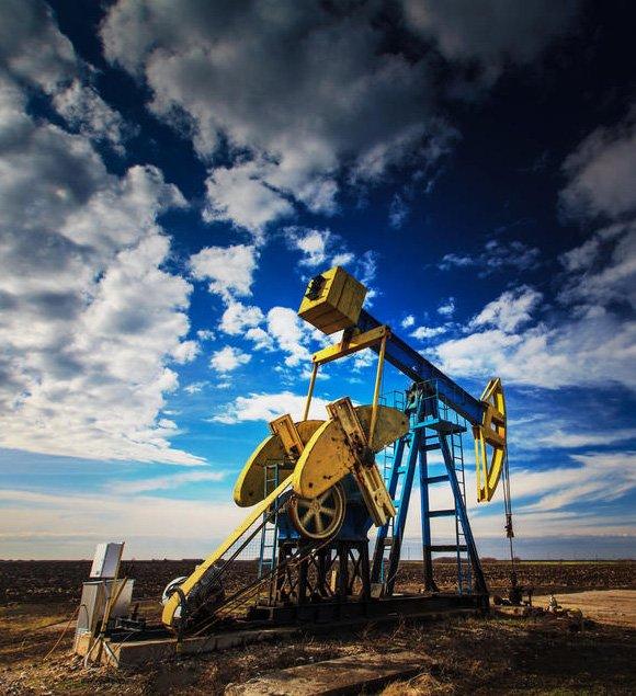 Oil Field Midland Texas