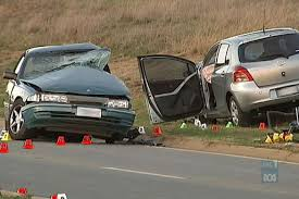 Two cars crashed causing personal injury to the victims